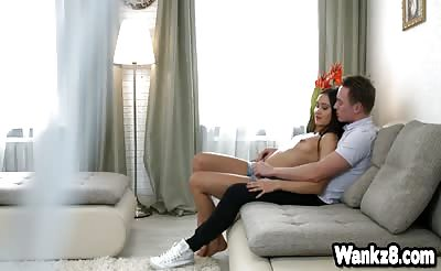 Lovely Tera Gold passionate sex with her lover