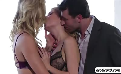 Jessa Rhodes plans a perfect threesome as anniversary gift