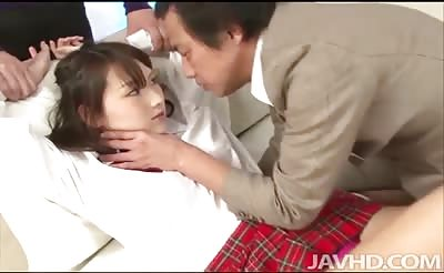 JavHD - Shiori Utas teacher and tutor stop by to give her extra lessons in sexual intercourse.