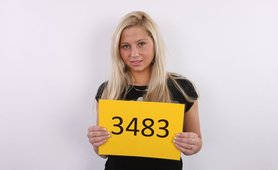 CZECH CASTING - HOT BLOND ANGEL VERONIKA (3483)