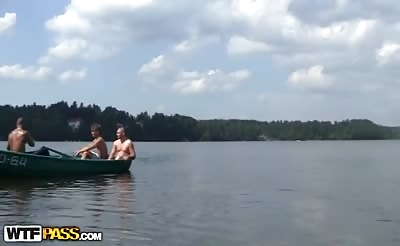 Extremely hardfuck on a boat