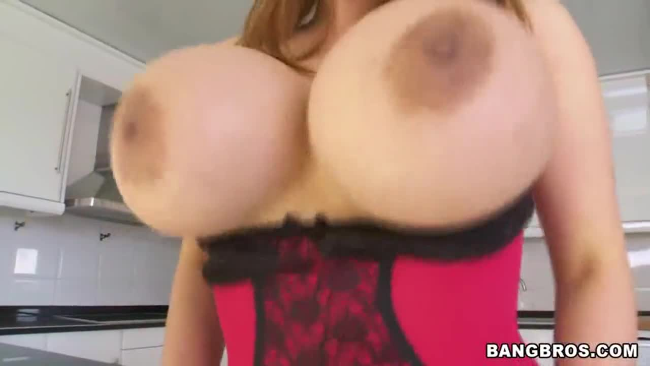 Asian Porn Star With Massive Tits Tittyfucked