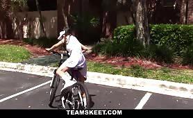 ExxxtraSmall - Itty-Bitty Bicyclist