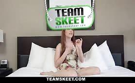 TeensDoPorn - Shy Redhead Does Porn