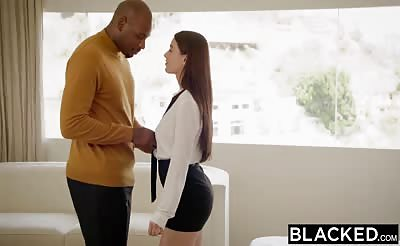 BLACKED Lana Rhoades Loves BBC Too Much