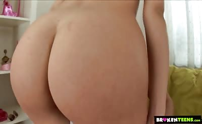 BrokenTeens - Sofia Richards Gaping Teen Asshole Gets Filled