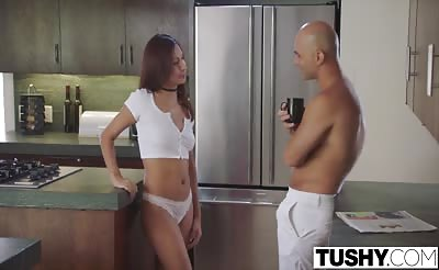 TUSHY Jade Jantzen Anal With Roommate