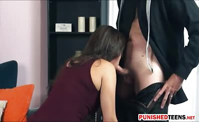 Blair Summers dominated and gets rammed by pervert man