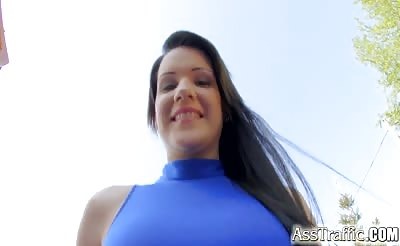 AssTraffic Teen girl does good job with ass to mouth anal fuck