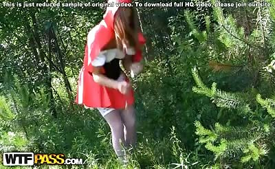 Little Red Riding Hood and big cock