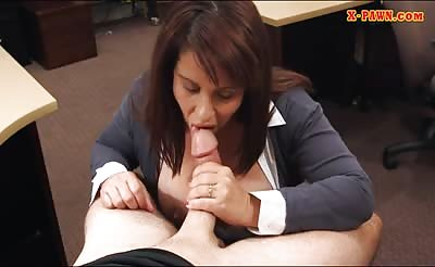 Busty wife drilled by nasty pawn keeper at the pawnshop