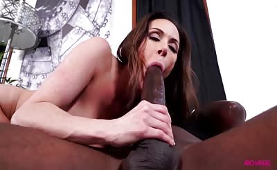 Kendra Lust Sucks and Fucks Mandingo