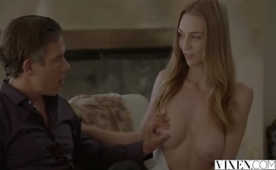 VIXEN Kendra Sunderland Finally Fucked By Dads Friend