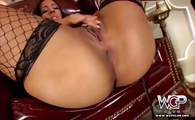 Latina gets a BBC up the ass