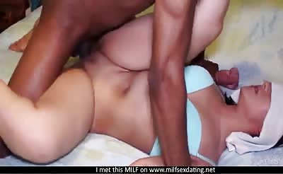 Black cock for a MILF from Milfsexdating Net