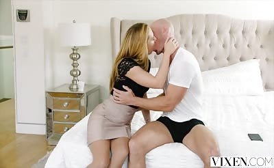 VIXEN Carter Cruise Lets Her Boss Manhandle Her
