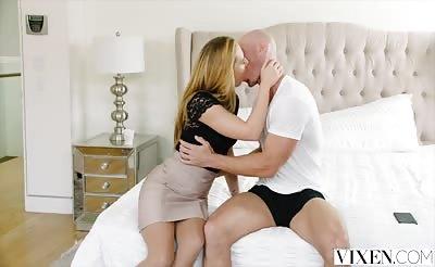 VIXEN Carter Cruise Lets Her Boss Manhandle Her