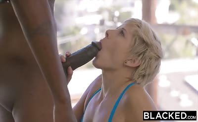 BLACKED Fit Housewife Makenna Blue Cheats on Hubby