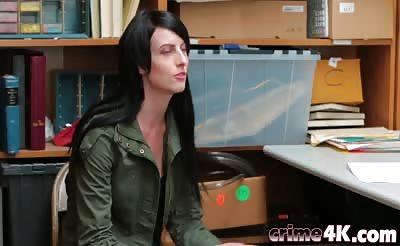 Shoplifter Babe Alex Harper Fucking Desk Big Dick