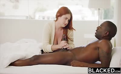 BLACKED Lennox Luxe Fucks Her Hung Crush
