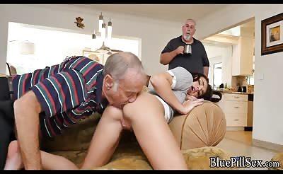 Slutty Teen DTF Old guys on Viagra