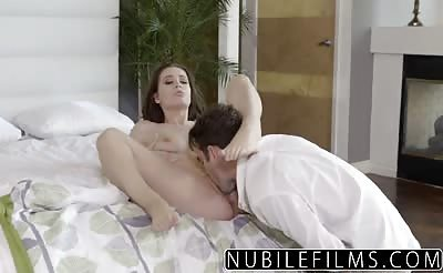 NubileFilms Lana Rhoades Seductive Tease For Step Brother