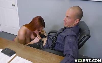 Hot schoolgirl Skyla Novea takes a huge dick