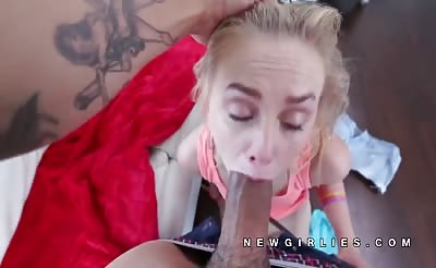 Lizzie Bell incredible blowjob and fuck