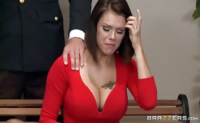 BRAZZERS Peta Jensen Gets Some Lawyer Cock