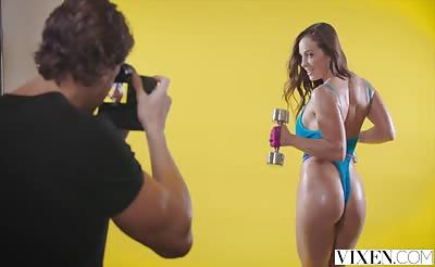 VIXEN Abigail Mac Gets Physical