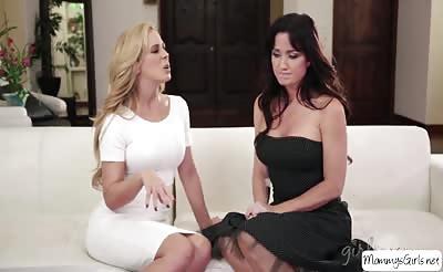 Naked women enjoys masturbating and eats each others pussy