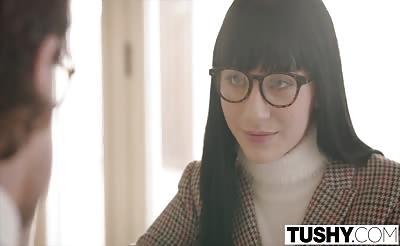 TUSHY Charlotte Sartre Anal Discipline