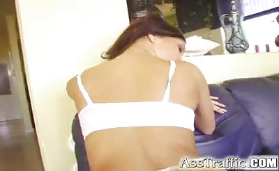 Ass Traffic Teen with hot body gets ass punished and is all