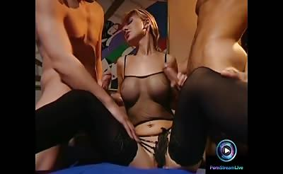 Rammed hard on her ass and unshaved pussy