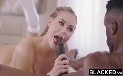 BLACKED Nicole Aniston's First Black Cock