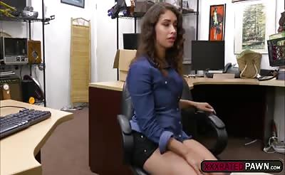 Petite Kitty Catherine shows her exotic furry pussy