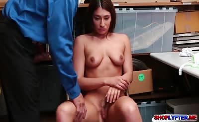 Sexy Davina Davis banged in her tight pussy