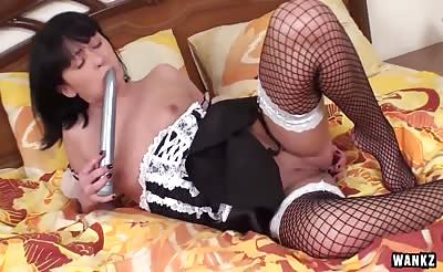 WANKZ- Lovely French Maid Teen