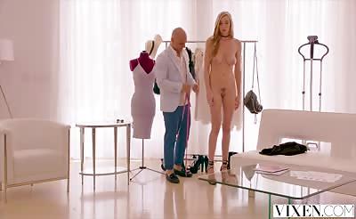 VIXEN Kendra Sunderland Fucks Fashion Designer
