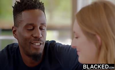 BLACKED Daisy Stone Takes Neighbors BBC