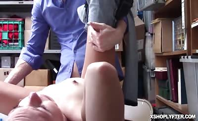 LP Officer pounds Zoey Clarks pussy doggystyle