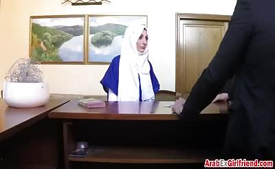 Arab Ex Girlfriend Gets Pussy Stretched While Riding