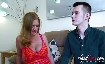 AgedLovE Mature Lily May Stripped of and Fucked