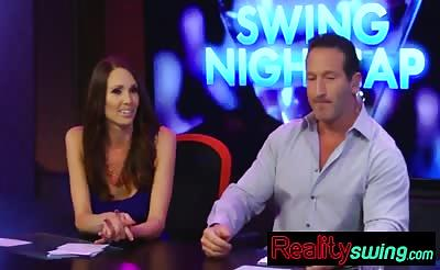 Amateur swingers have recap of reality show fun