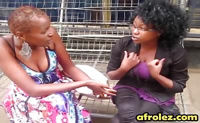 Ultimate ebony lesbians enjoy oral