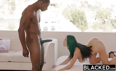 BLACKED Busty Victoria June Loves BBC