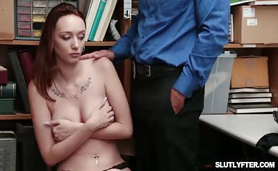 Avery Stones pussy stuffed by a big cock balls deep