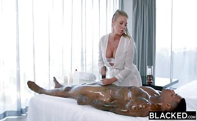 BLACKED Samantha Saint Loves BBC & Rimjobs