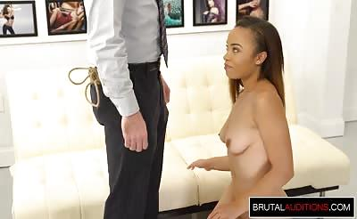 Interracial Audition for Teen