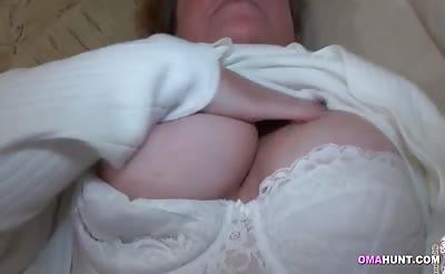 Lesbian granny lovers have fun